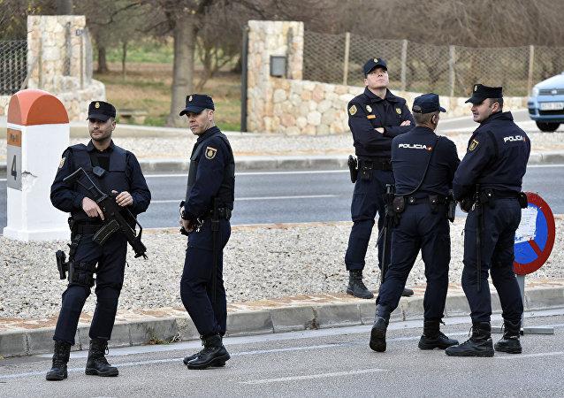 Španělští policisté