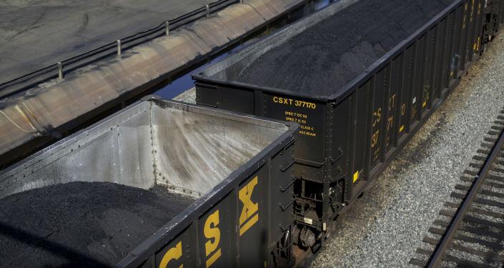 Kontejnery s americkým uhlím