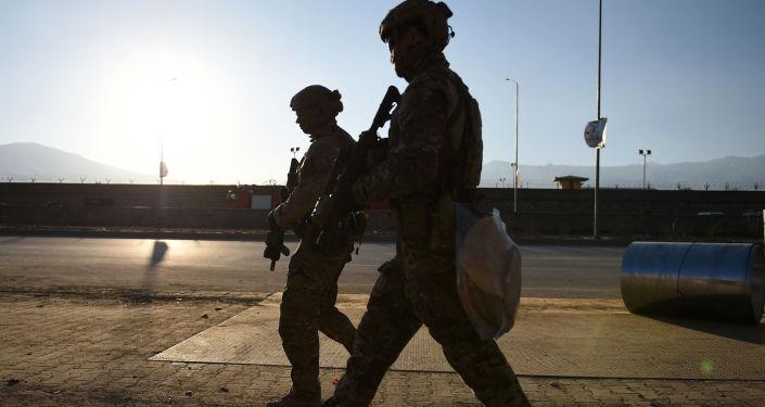 Američtí vojáci v Kábulu