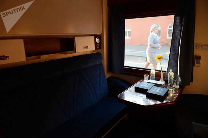 Vůz turistického vlaku Císařské Rusko