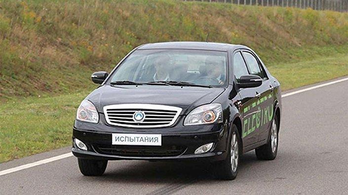 Prezentace prvního běloruského elektromobilu v Minsku