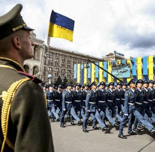 Přehlídka v Kyjevě