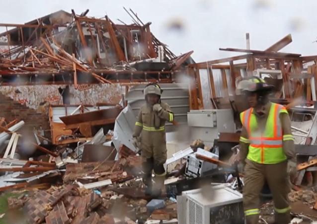 Následky hurikánu Harvey v USA