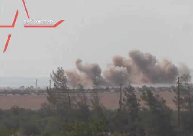 Je zveřejněno video útoku Nočního lovce na bojovníky IS v Sýrii