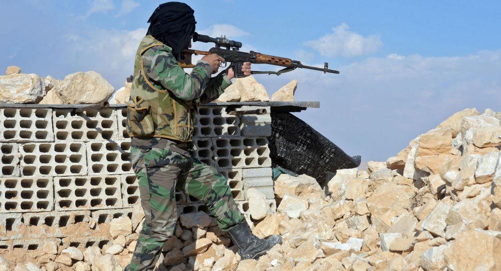 Bojovník hnutí Hizballáh