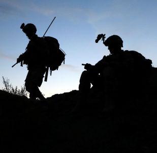 Američtí vojáci na afhgánsko-pákistánské hranici