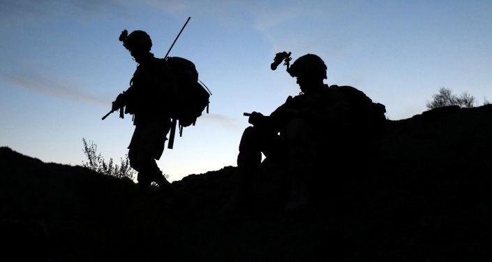 Vojáci na afhgánsko-pákistánské hranici. Ilustrační foto