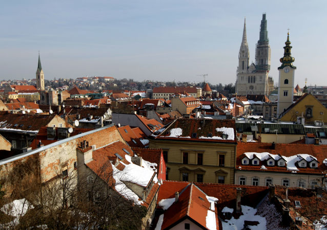 Katedrála v Záhřebu