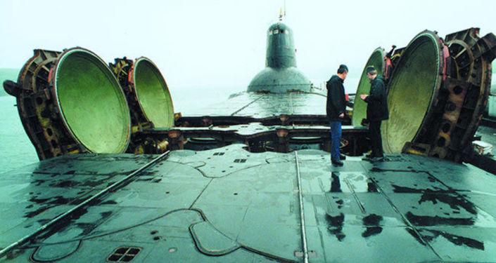 Atomová ponorka projektu 941 Akula