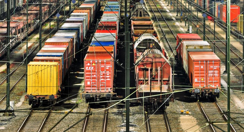 Přeprava kontejnerů po železnici