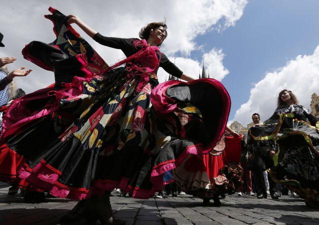 Mezinárodní festival Romů Khamoro v Praze