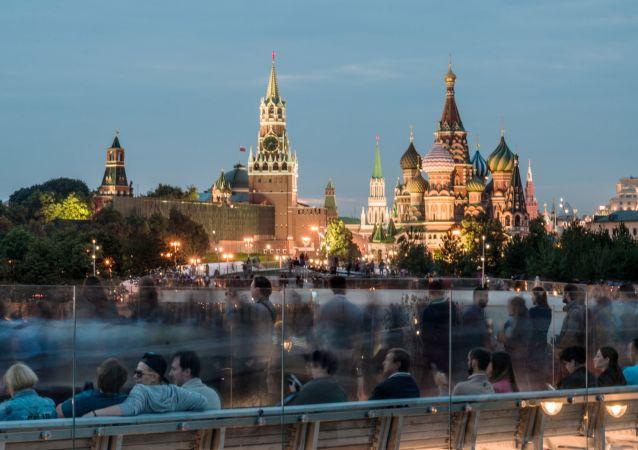 Park Zarjadje v Moskvě