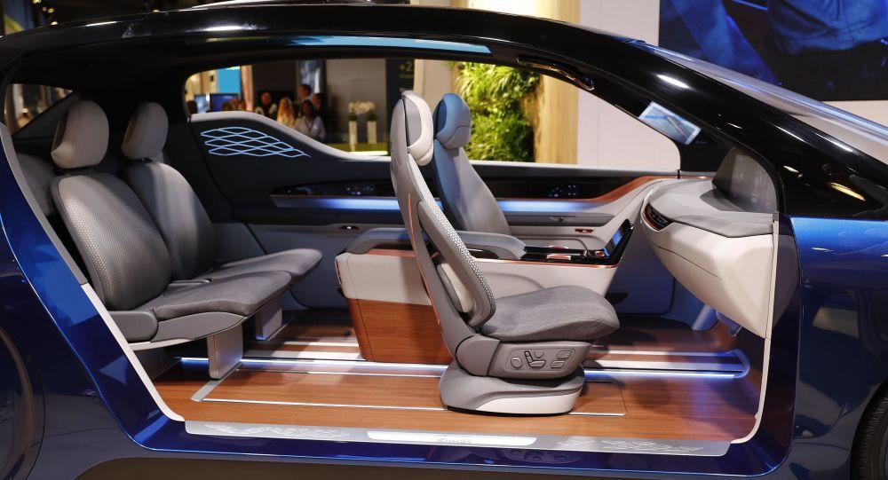 Vnitřek automobilu. Ilustrační foto