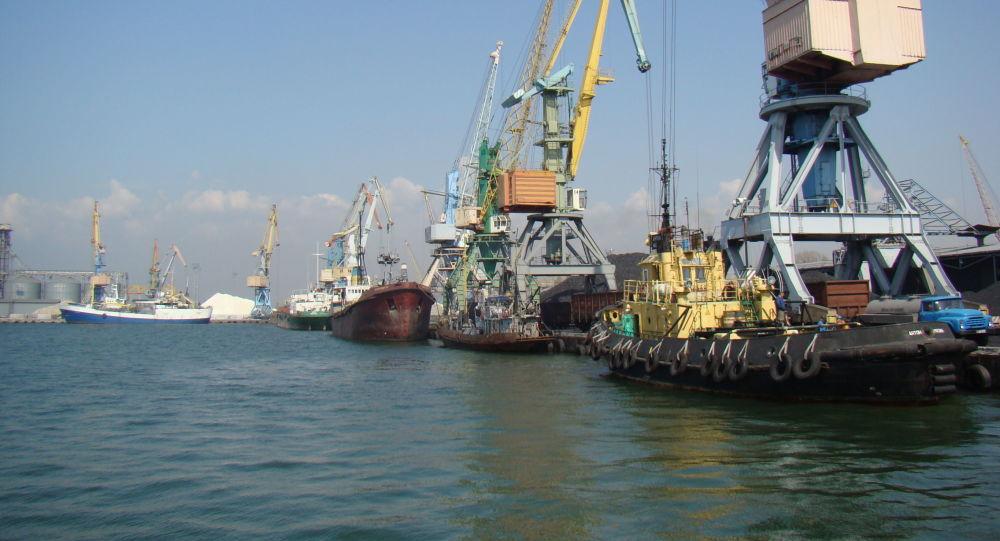 Berďjanský námořní přístav, Ukrajina