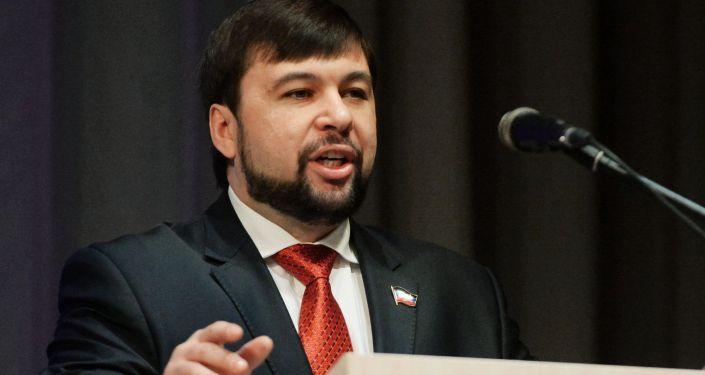 Dočasný vedoucí představitel DLR Děnis Pušilin
