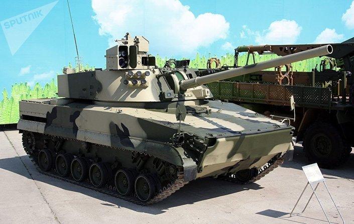 Samohybný dělostřelecký systém 2s31 Vena