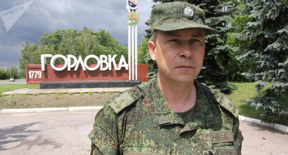 Zástupce velitele operačního velení Eduard Basurin