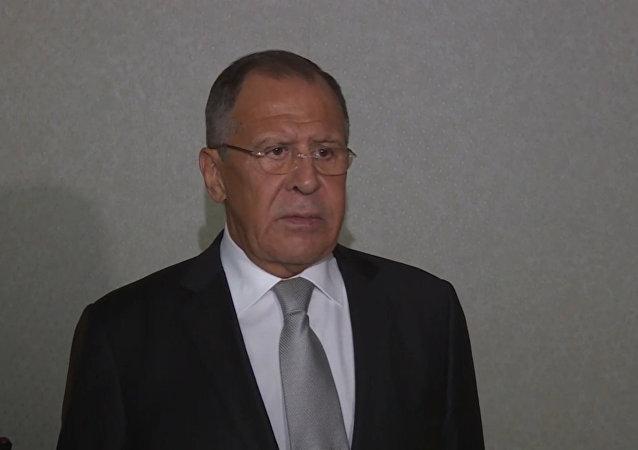 Komentář Lavrova o schůzce s Tillersonem během Valného shromáždění OSN Video