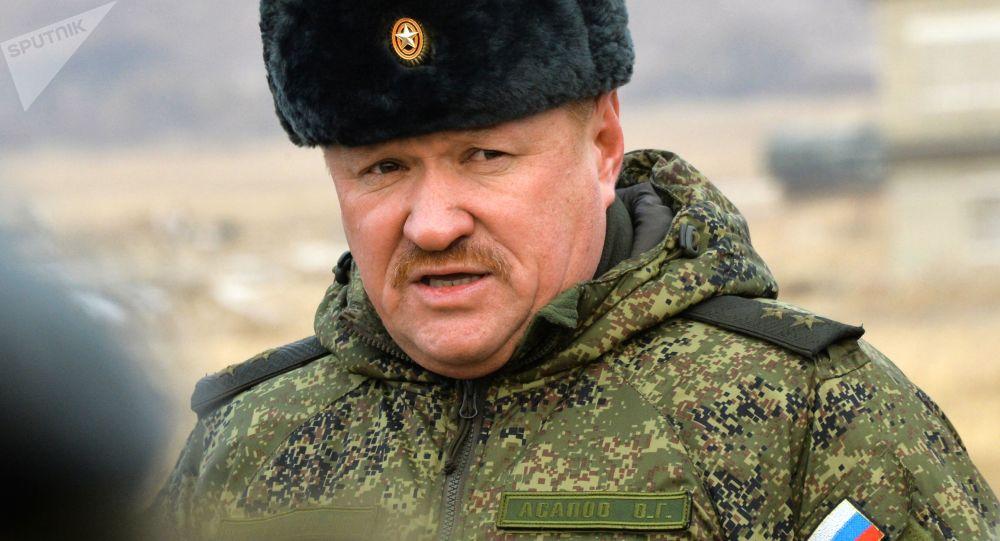 Ruský generál Valerij Asapov