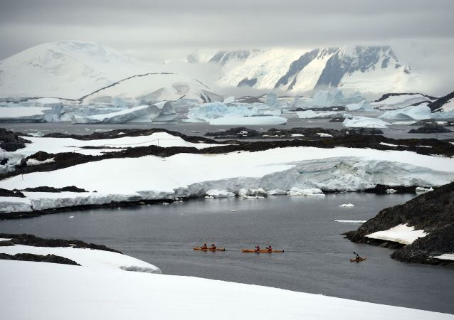 Ledovce na Antarktidě
