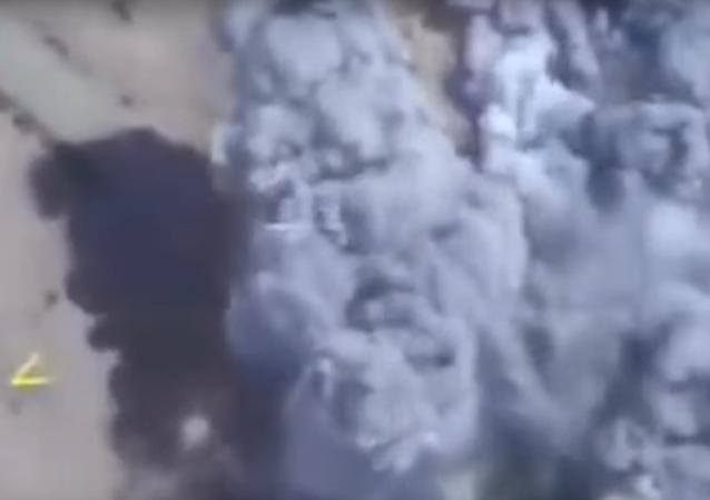 Ministerstvo obrany uveřejnilo videonahrávku útoků na IS v Sýrii