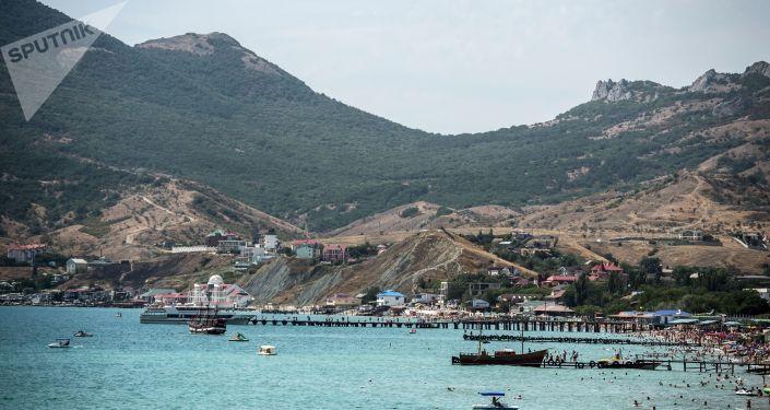 Koktebel, Krym. Ilustrační foto