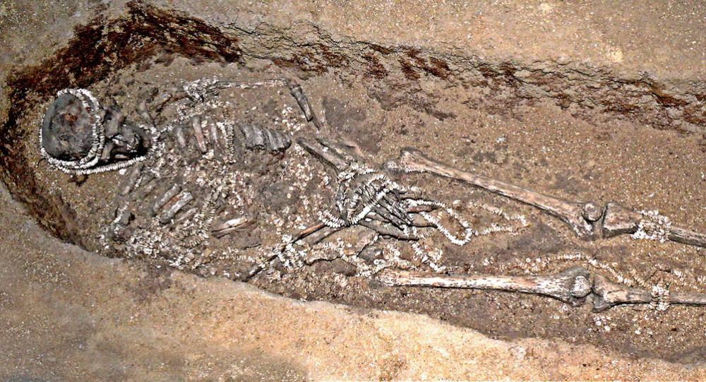 Pozůstatky nalezené v Sungiri