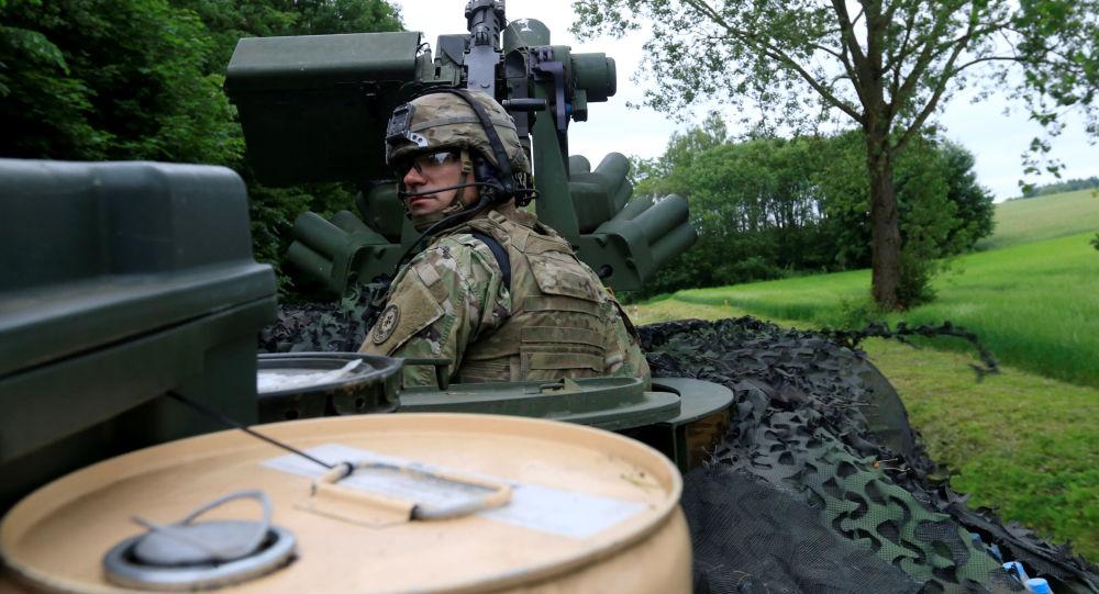 Americký voják v Polsku