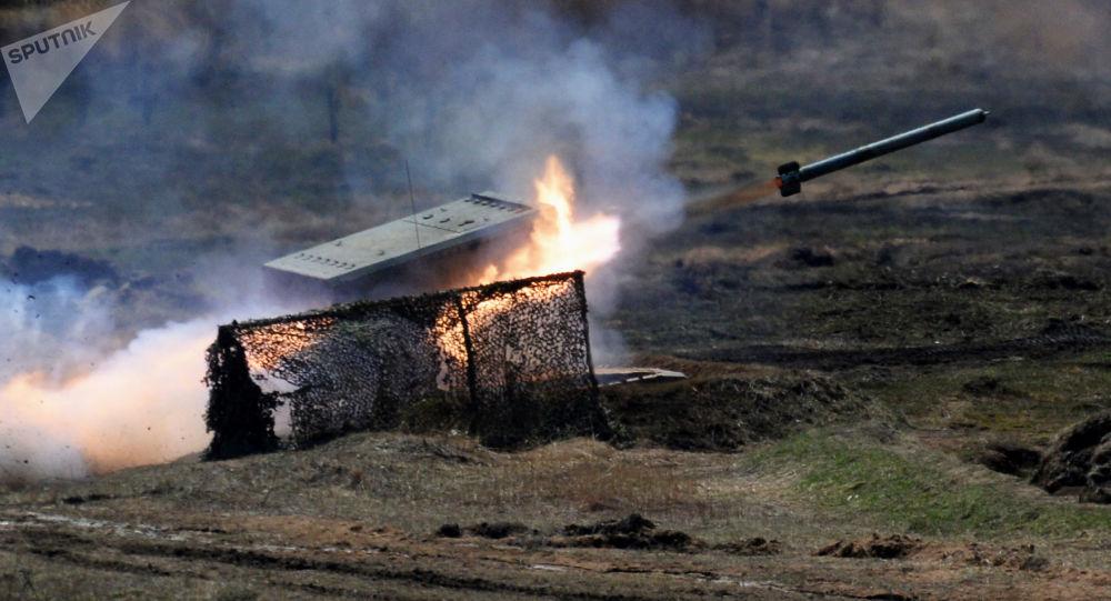 Raketomet TOS-1 Buratino