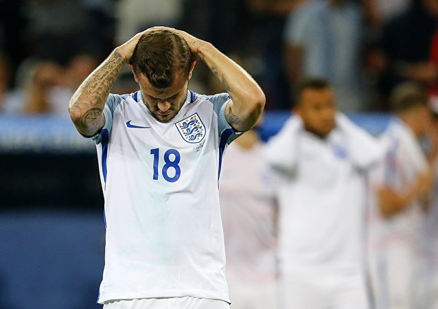 Anglický tým na mistrovství Evropy