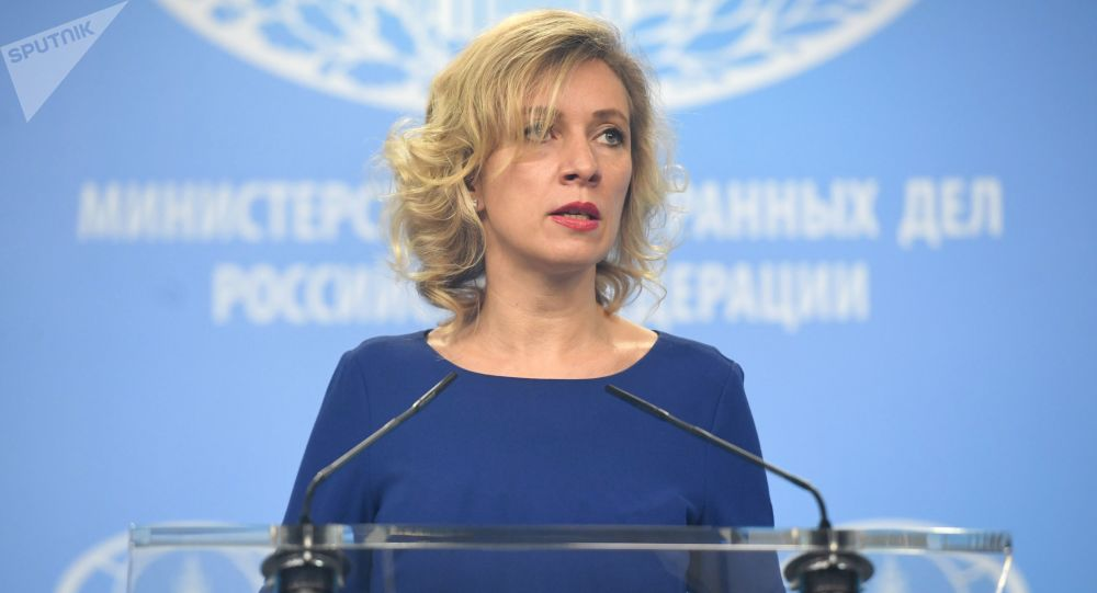 Mluvčí ruského MZV Maria Zacharovová