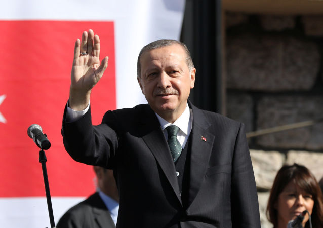 Turecký prezident Recep Erdogan v Srbsku