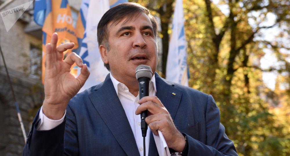 Bývalý gruzínský prezident Michail Saakašvili