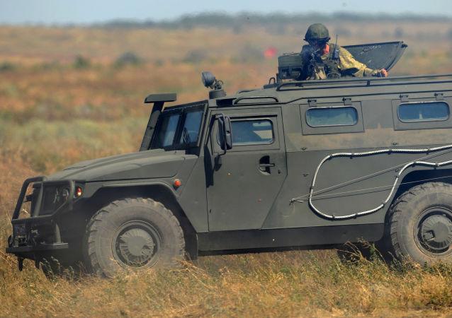 Obrněné vozidlo Tygr. Ilustrační foto