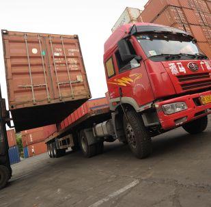 Kamion v Šanghaji