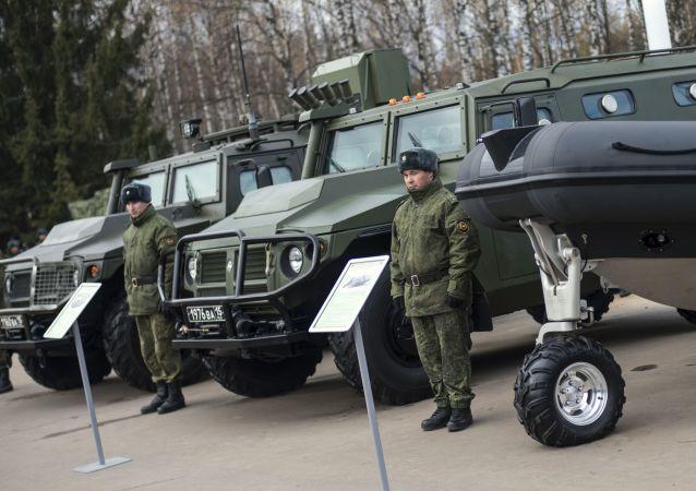 SBM (speciální obrněný vůz) VPK233136
