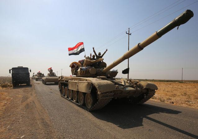 Irácká armáda v okolí Kirkúku