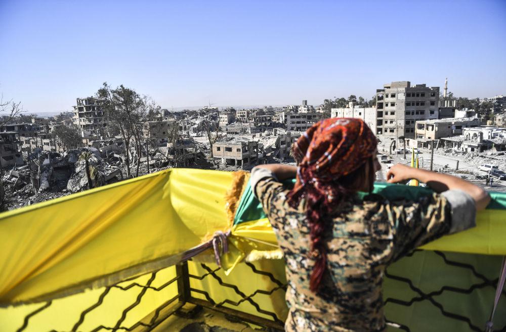 Vytrvalost a odhodlání: kurdské bojovnice