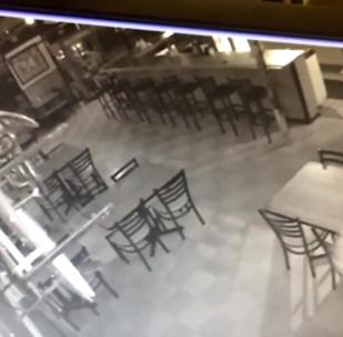 """V americké restauraci videokamery natočily """"přízrak"""""""