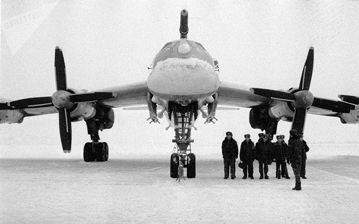 Strategický bombardér Tu-95