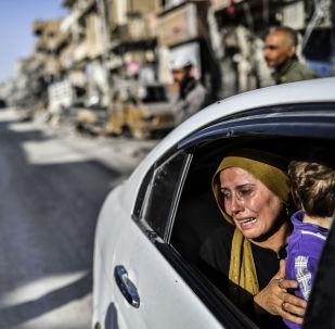 Nové Drážďany: Ruiny syrského města Rakka