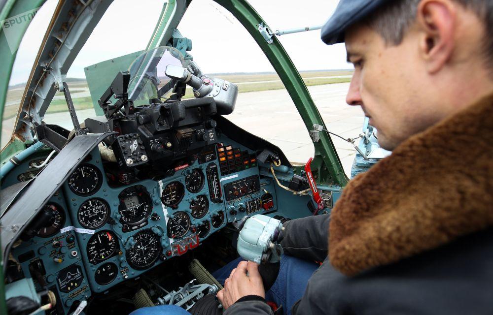 Výcvik posádek Su-25