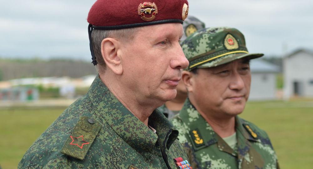 Ředitel Ruské národní gardy Viktor Zolotov