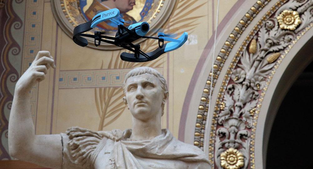 Drone v Paříži