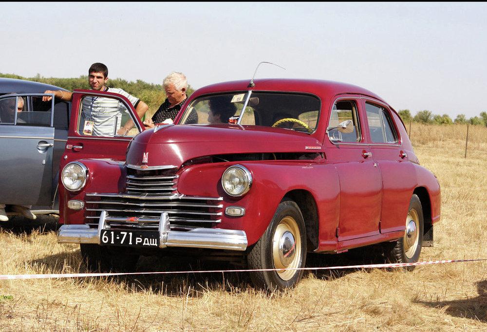 Legendární automobil Poběda: Čtyřkolový symbol sovětského života