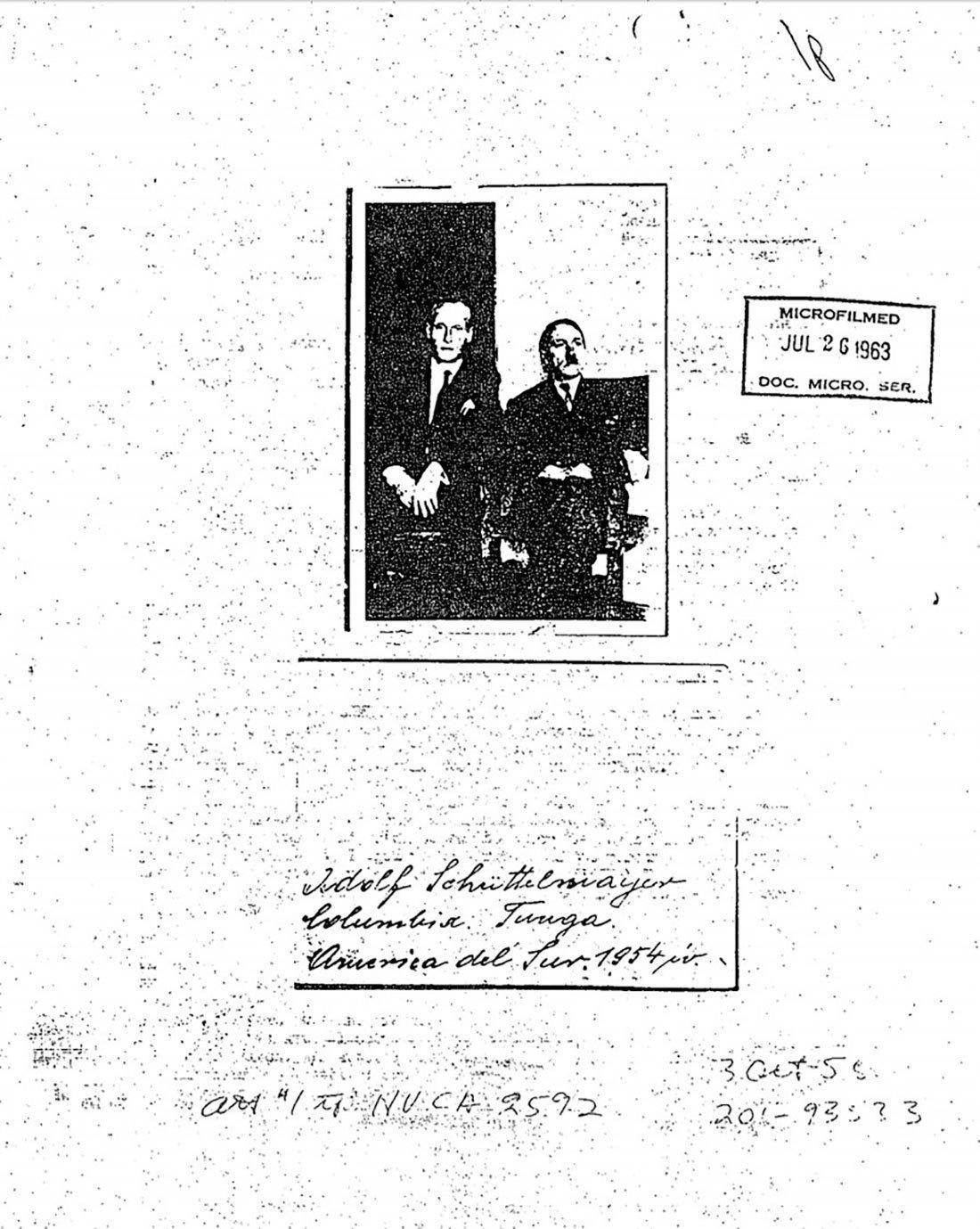Fotografie z archivu CIA