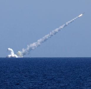 Vypuštění rakety Kalibr