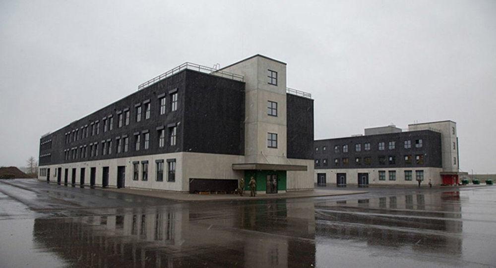 Kasárny v estonském městečku Tapa