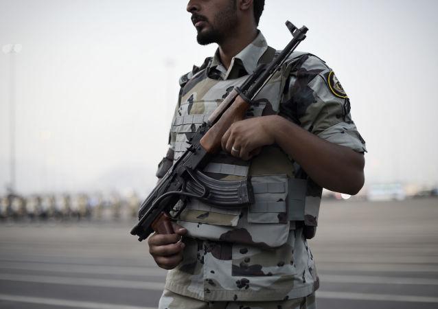 Saúdský policista