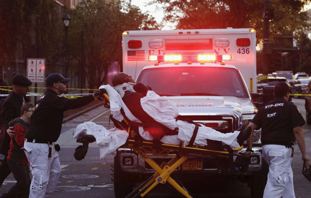 Oběť teroristického útoku v New Yorku